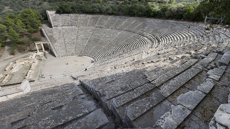 The theatre of Epidaurus   © Andreas Trepte/WikiCommons