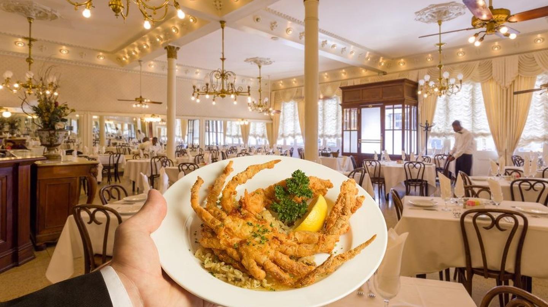 Fried Soft Shell Crab at Antoine's Restaurant, courtesy of Antoine's Restaurant.