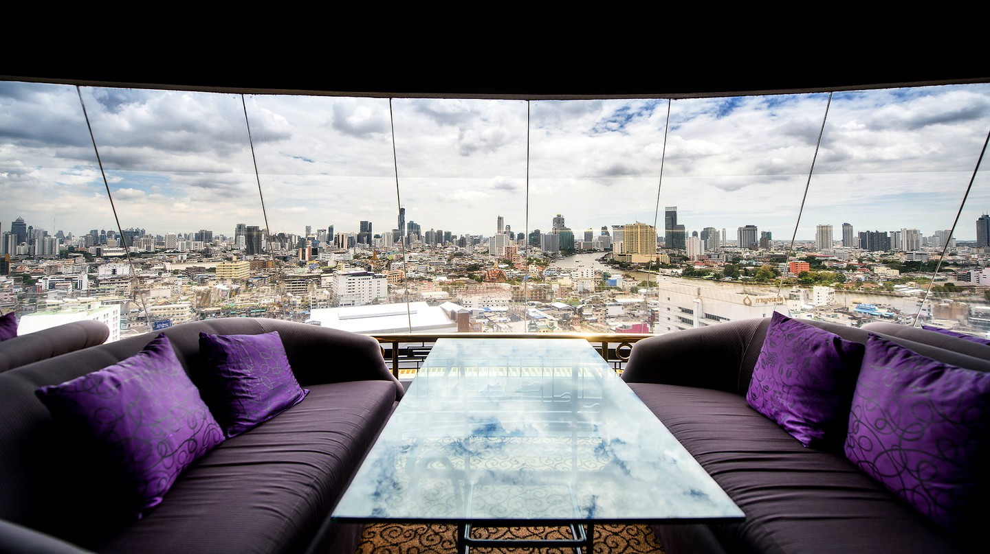 The Skyview Lounge | Courtesy of Grand China Hotel