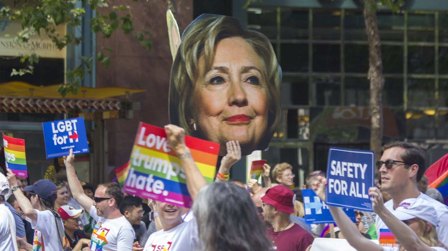 Support for Hillary © Quinn Dombrowski/Flickr