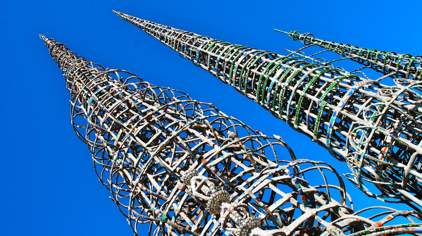 Watts Towers | © Megan Westerby/Flickr