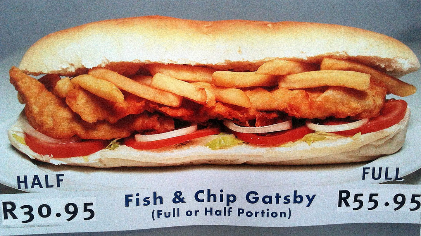 Fish and chip gatsby © Ian Barbour/Flickr