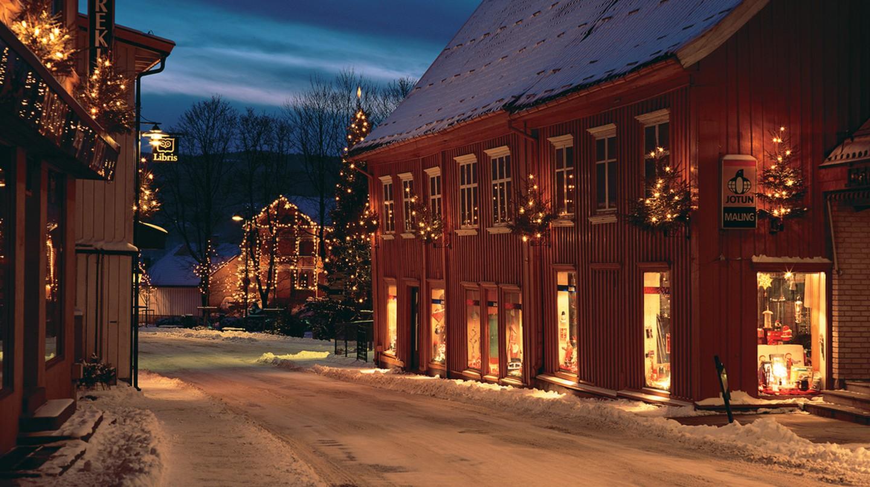 Christmas in Storgata, Drøbak, Norway © Frogn kommune/Flickr