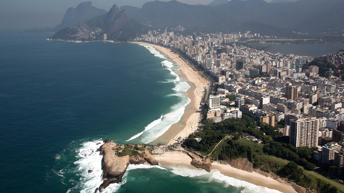 The coastline in Rio|© Fernando Maia | Riotur/Flickr