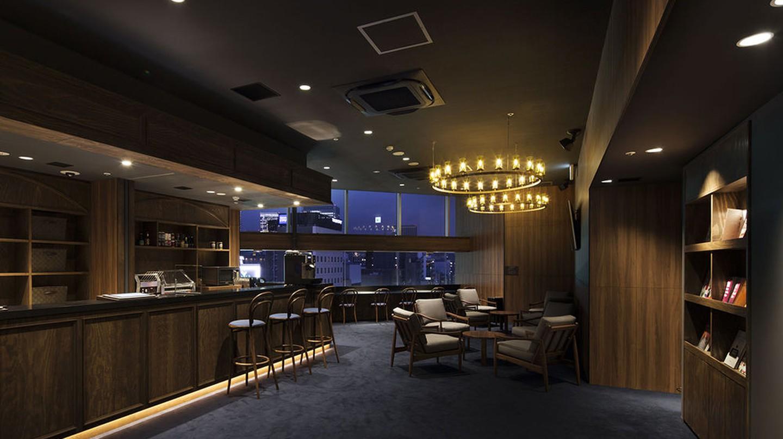 Lounge at the Prime Pod Ginza | © Prime Pod Ginza
