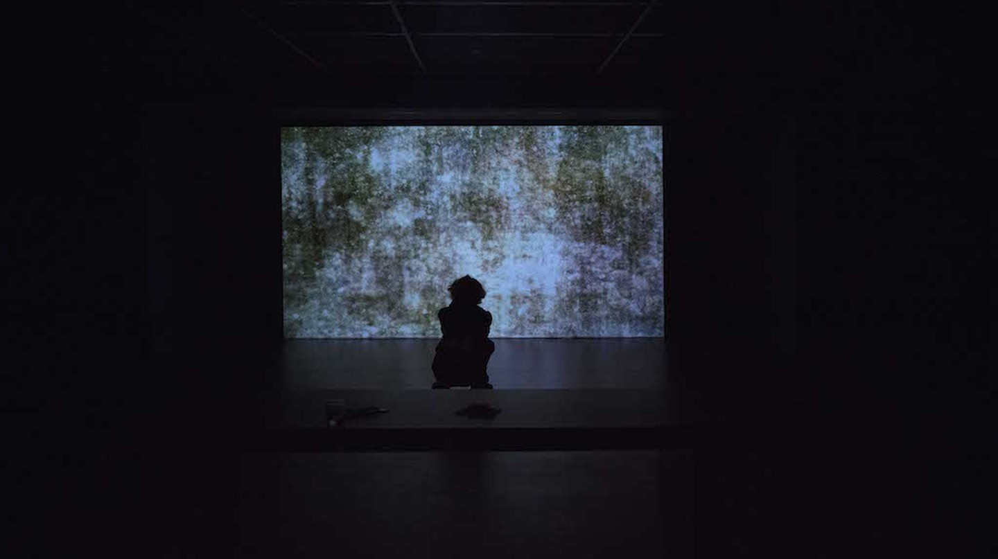 Takashi Makino: Cinéma Concret at Empty Gallery. Image courtesy of the artist and Empty Gallery