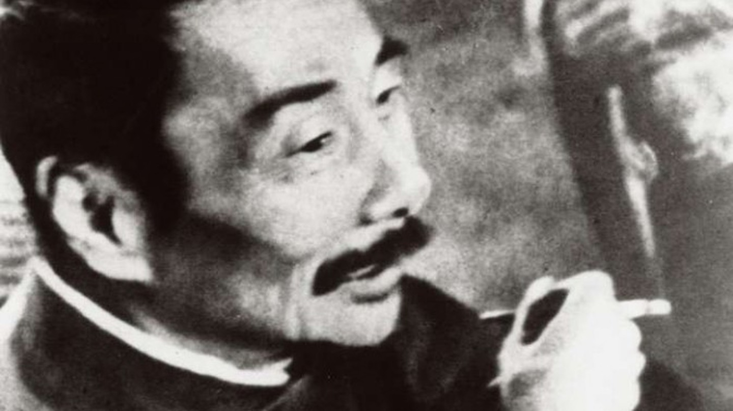 Lu Xun on 8 October 1936, 11 days before his death │© Wikicommons