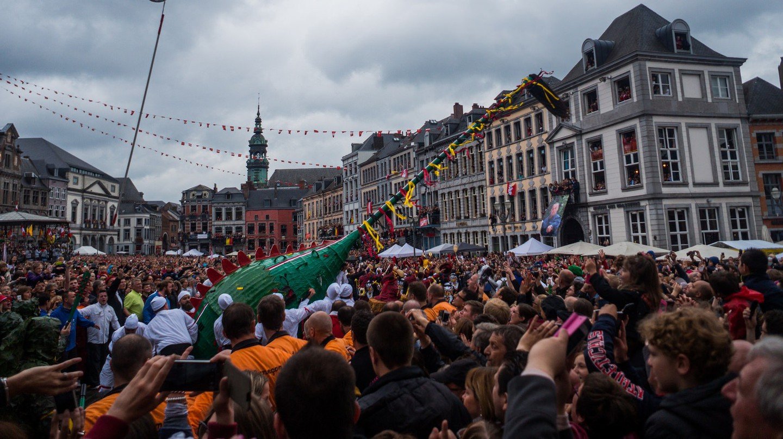 Mons' Ducasse or 'Doudou' festival | © David Taquin/Flickr