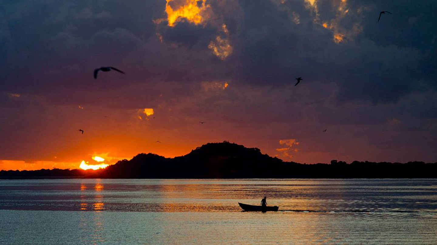 Sunrise at Ilha do Cardoso |© Leandronegro/WikiCommons