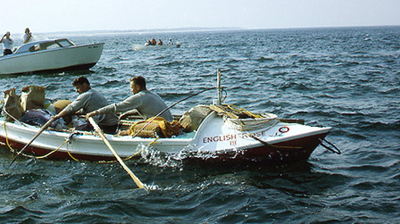 Chay Blyth and John Ridgway rowed 3,000 miles across the Atlantic Ocean in 1966 | © Sir Chay Blyth