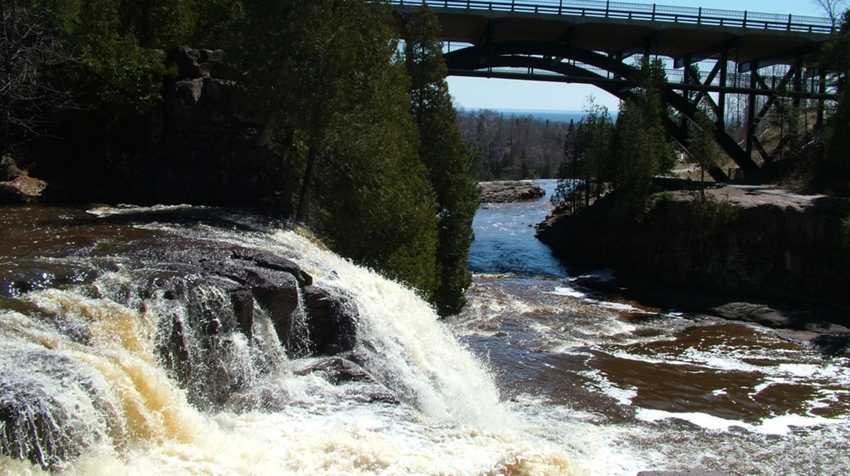 Gooseberry Falls State Park | © WikiCommons
