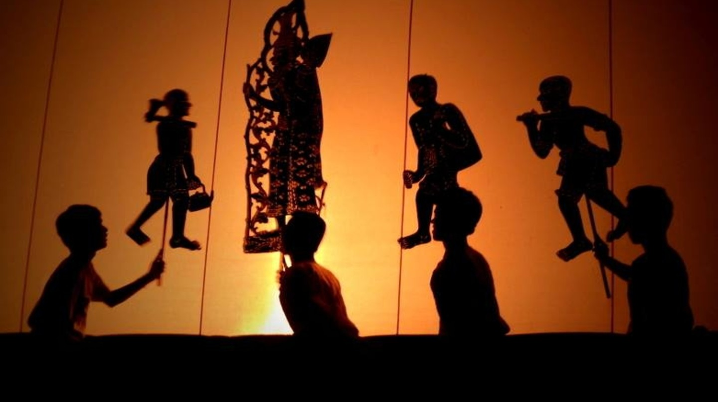 A shadow puppet performance at Wat Bo in Siem Reap | ©  Marissa Carruthers