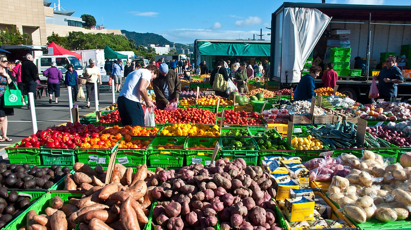 Wellington Harbourside Market