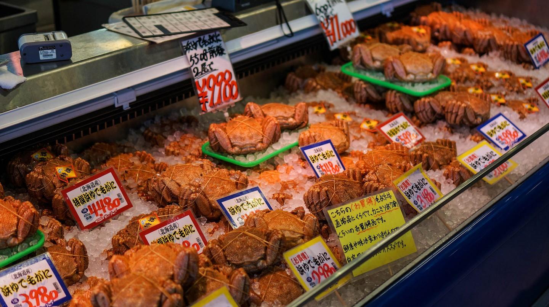 Curb Market, Sapporo | © Liwei / Flickr