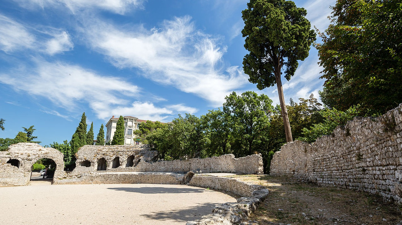 The Roman arena in Cimiez, Nice | © Édouard Hue/WikiCommons