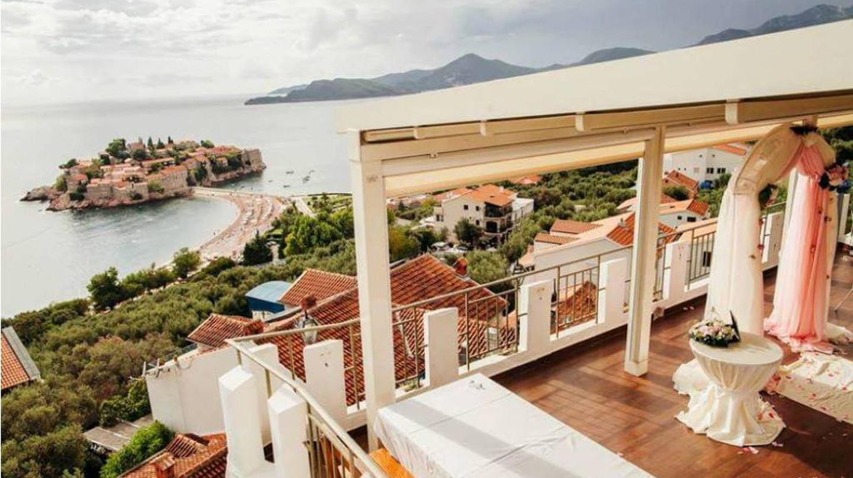 Striking views of the Adriatic from the Hotel Adrović | Courtesy of Hotel Adrović