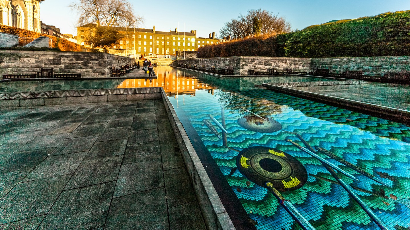 The Garden of Remembrance, Parnell Square | © William Murphy/Flickr
