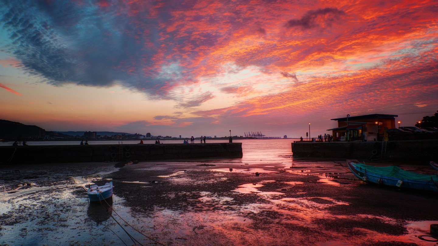 Sunset at Tamsui | © jimmy0930fly / Flickr