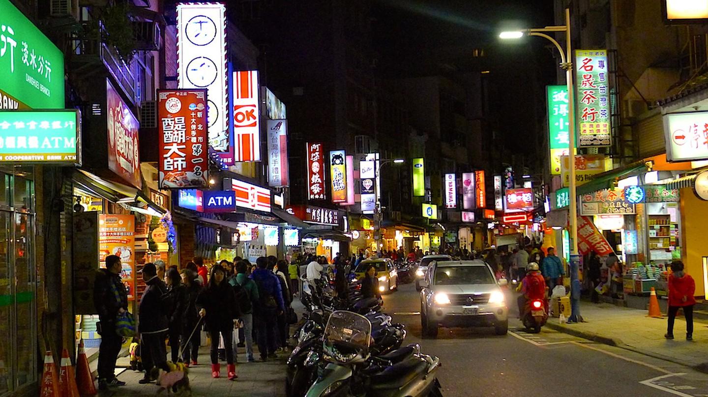 Tamsui shops at night | © Cliffano Subagio / Flicker