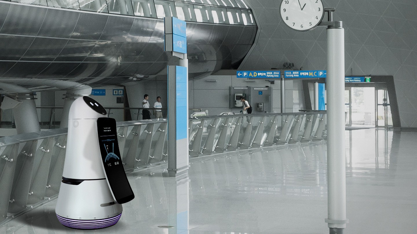 LG's Airport Guide Robot | Courtesy LG