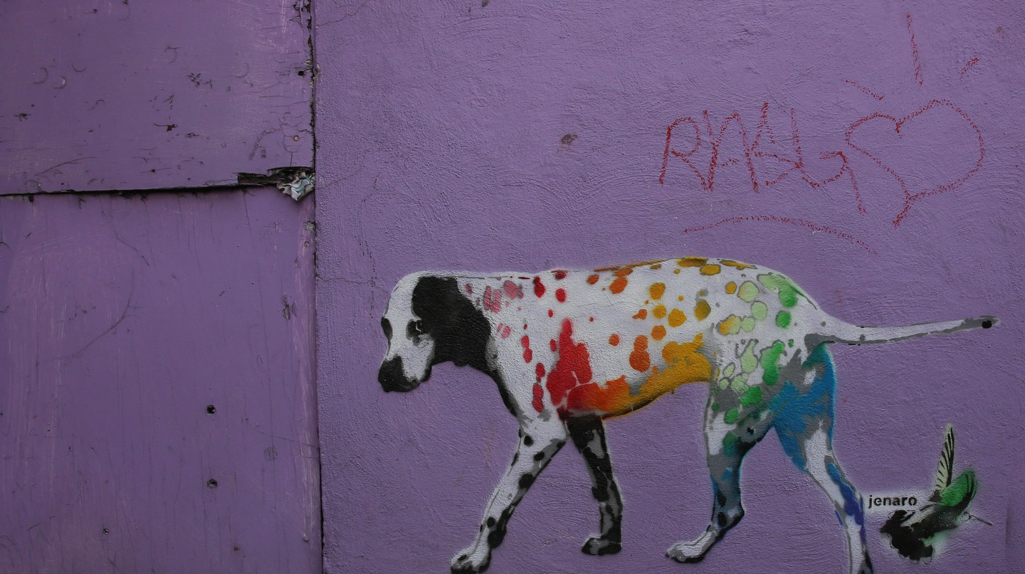Street art in Roma | © Paul Sableman/Flickr