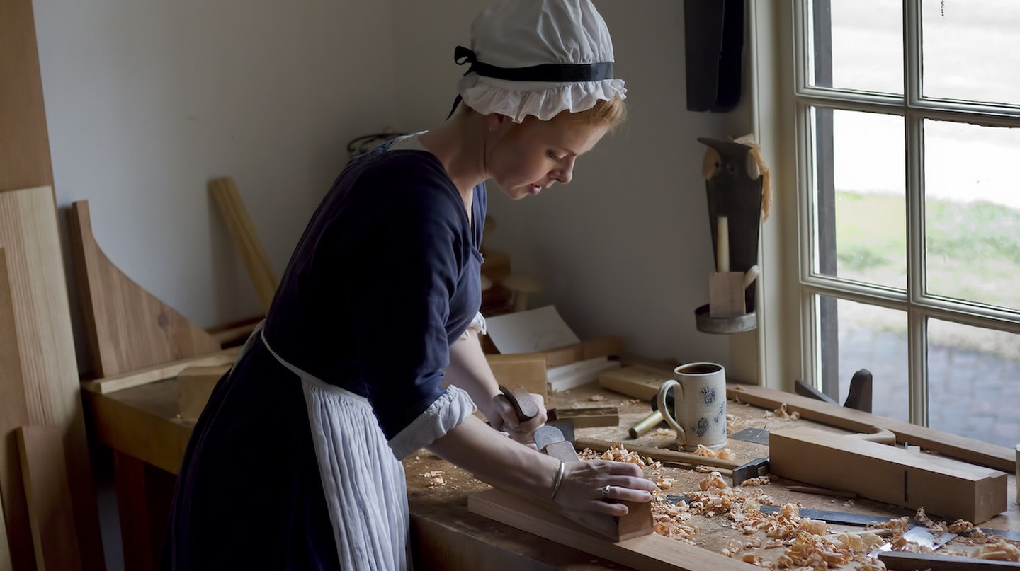 Colonial Williamsburg Virginia Carpenter and Joiner shop | © C Watts/Flickr