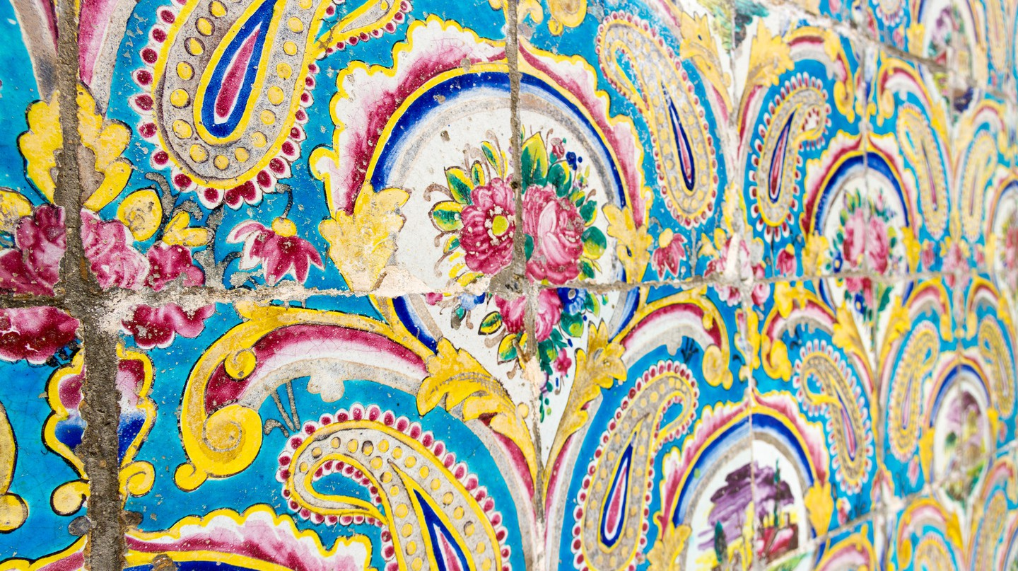 Tiles of Golestan Palace | © Matt Biddulph / Flickr