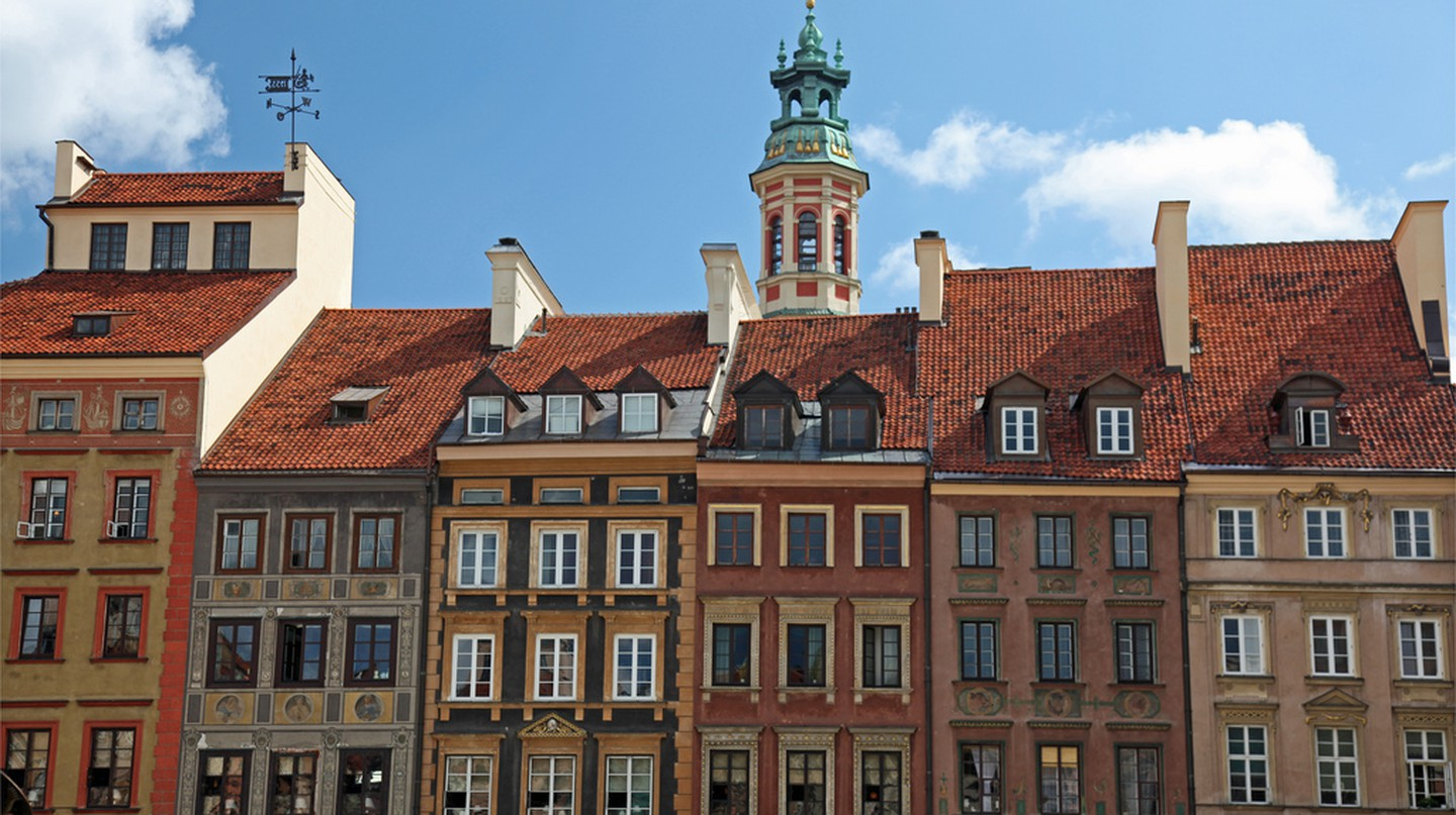 Old Town, Warsaw | © Chris Brown / Flickr