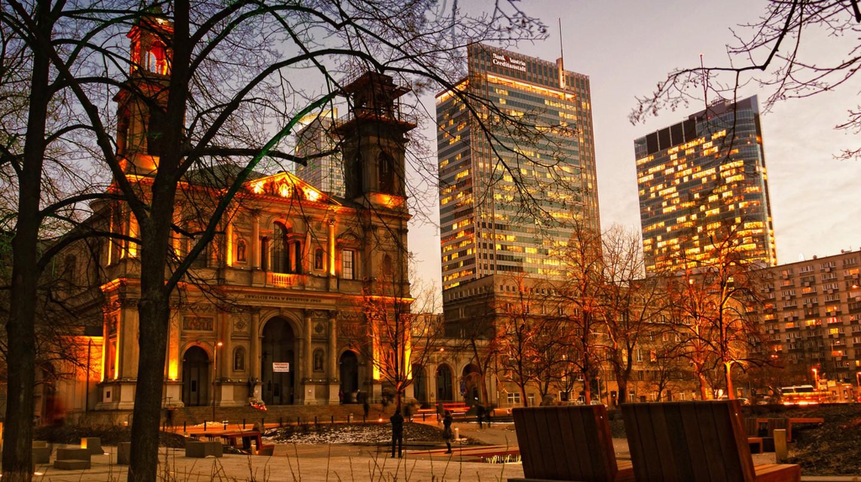Plac Grzybowski © Adam Smok/Flickr