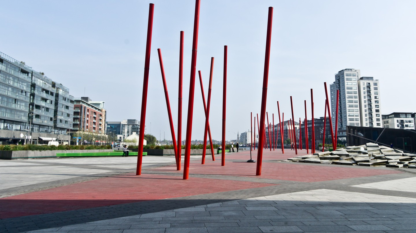 Grand Canal Square | © William Murphy/Flickr