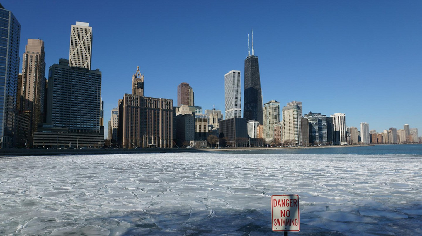 Chicago in winter | © Harald Deischinger / Flickr