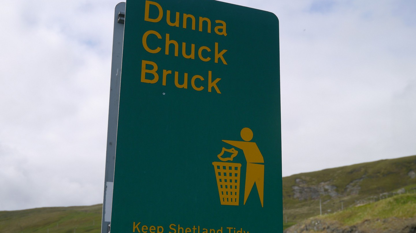 Shetland dialect | © Shirokazan/Flickr