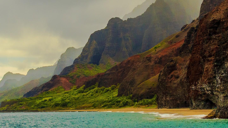 Na Pali Coast, Kauai   © n4rwhals/Flickr