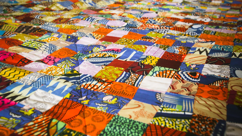 Ghanian textiles © Yenkassa/ Flickr