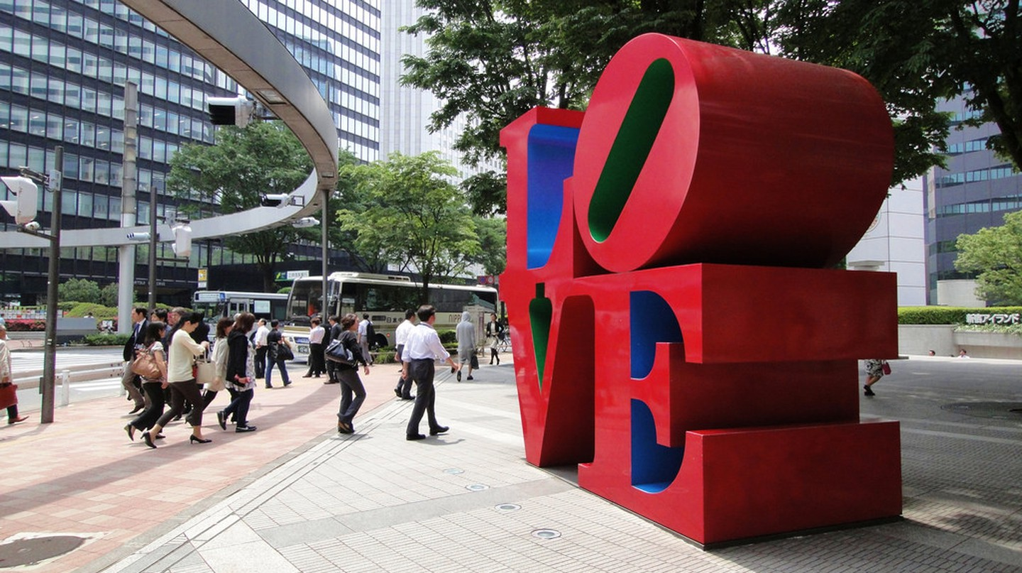 LOVE by Robert Indiana | © Dick Thomas Johnson / Flickr