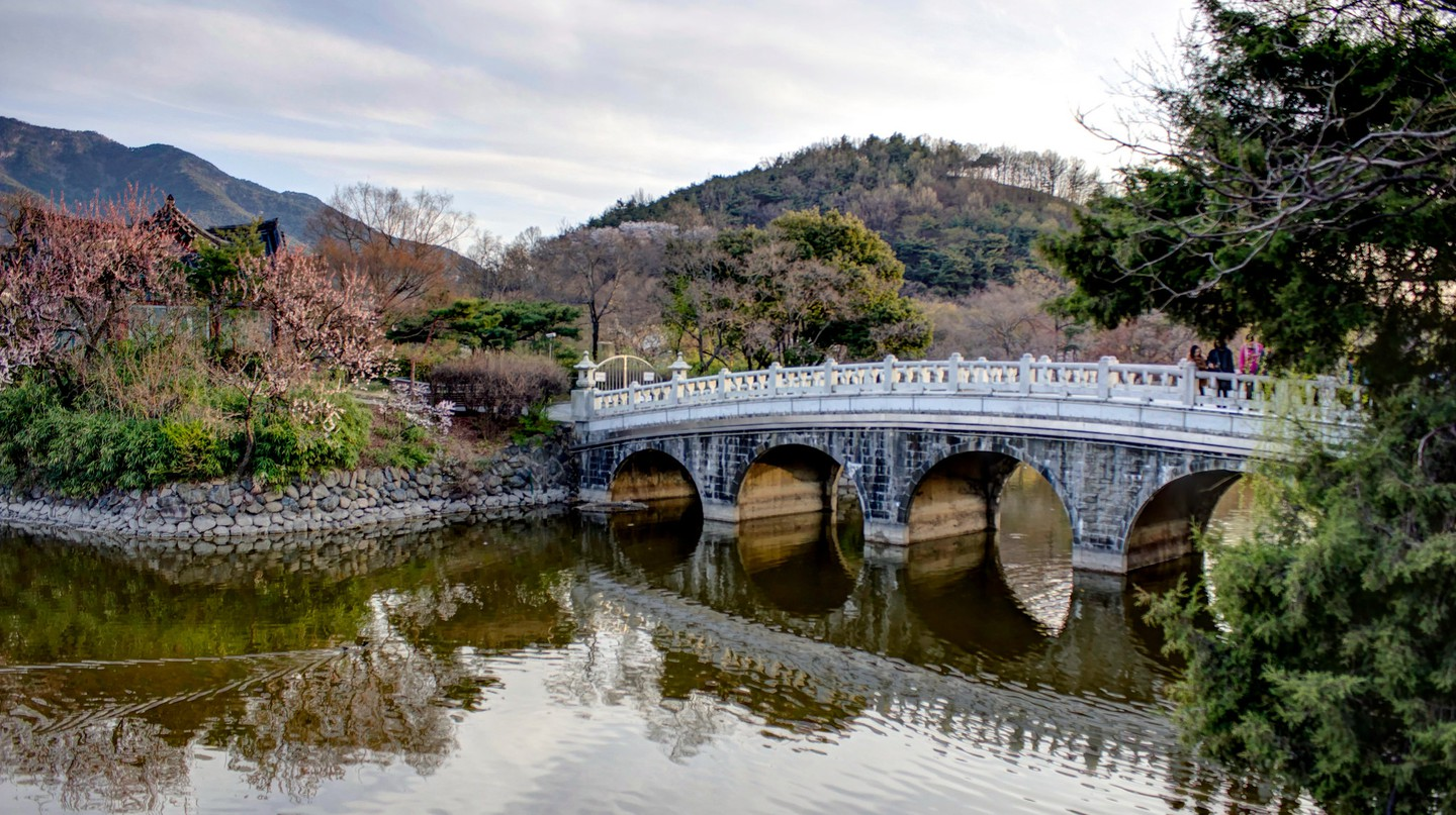 Duryu Park is a place of beauty throughout the year   © Chris Anderson / Flickr