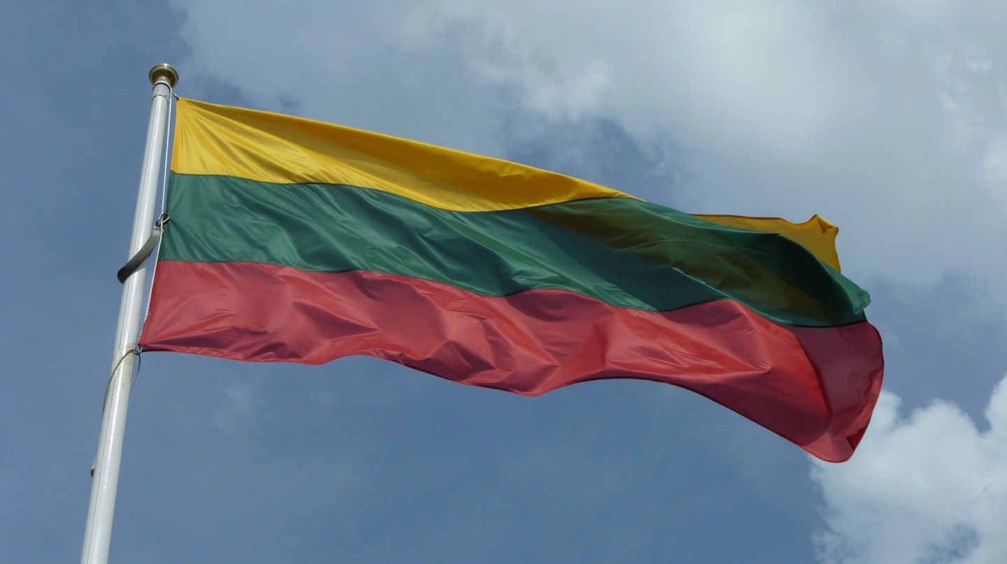 Lithuania's flag | © Anemone Nemorosa/Flickr