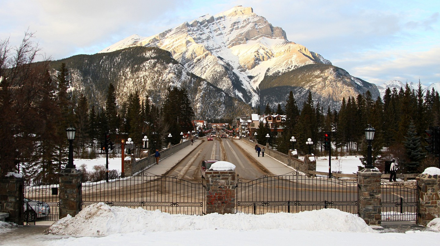 Winter in Banff | © Grant C / Flickr