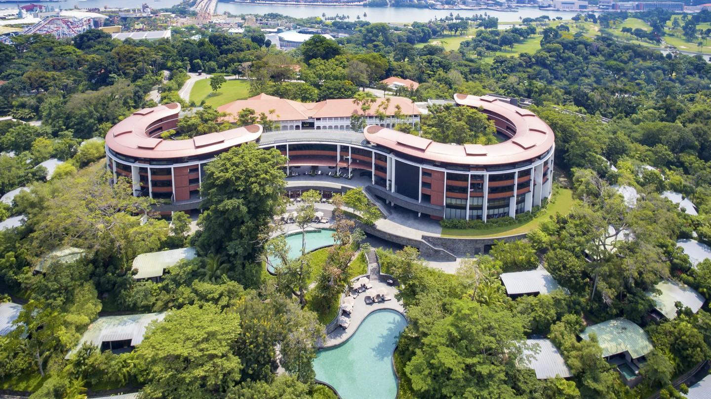 Aerial View of Capella Singapore   Courtesy of Capella Singapore