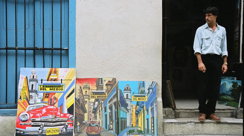 Capitalism, Havana, Cuba © Cynthia Burkhardt