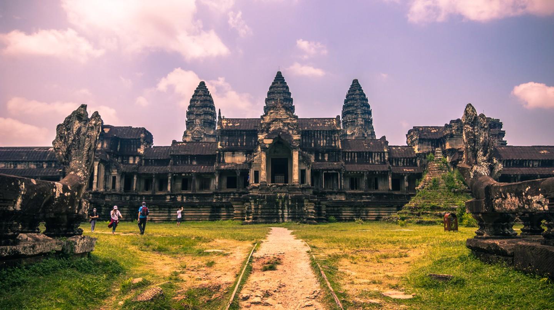 Angkor Wat temple is a major draw. Copyright RPBaiao / Shutterstock Inc