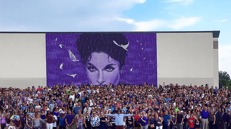 Prince Mural | Image Courtesy of Graham Hoete