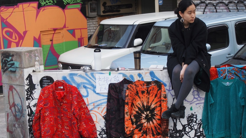 Unique items at a Daegu free market   © Mimsie Ladner