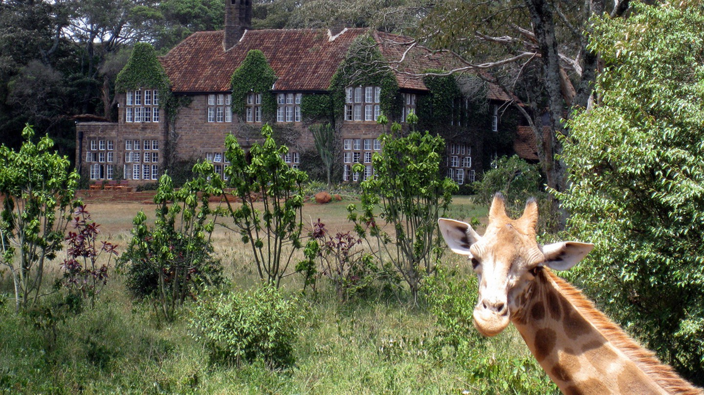 Giraffe Manor | © Visiting Kenya / Flickr