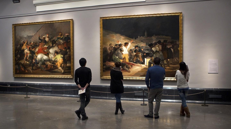 The famous Third of May painting by Francisco Goya | © Museo Nacional del Prado