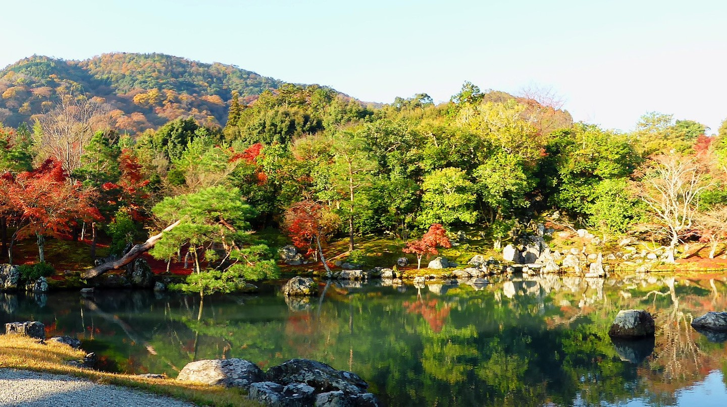 Japanese Stroll Garden at Tenryu-ji Temple| © Tetsuhiro Terada Flickr