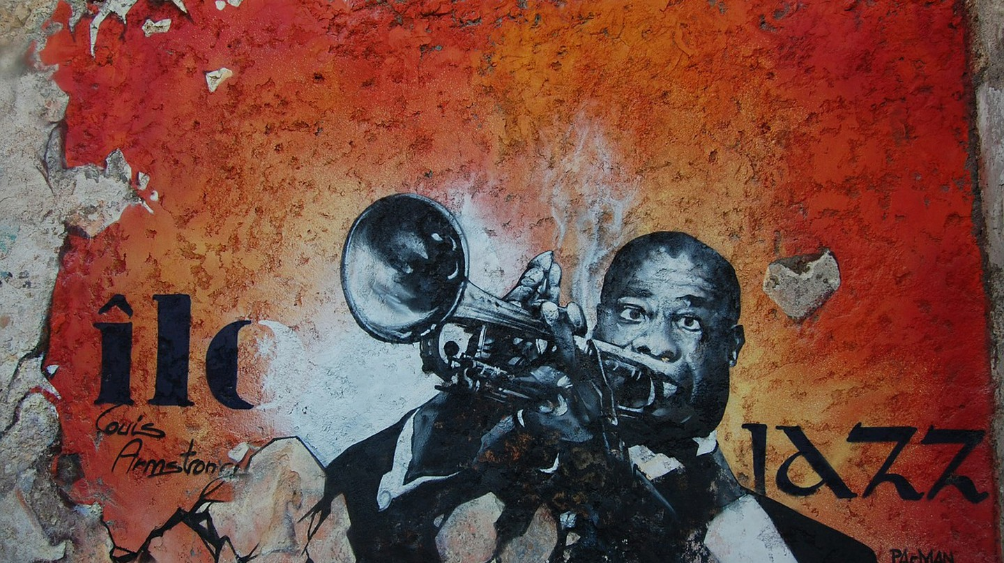 Louis Armstrong played at the very first international jazz festival in Nice   © jokoPix/Pixabay