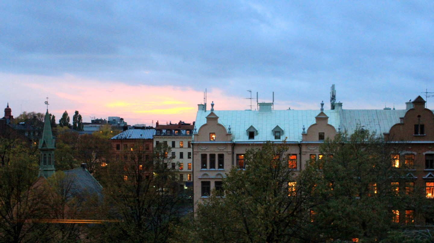 Stockholm's Södermalm at dawn | ©Jonathan Pio/Flickr