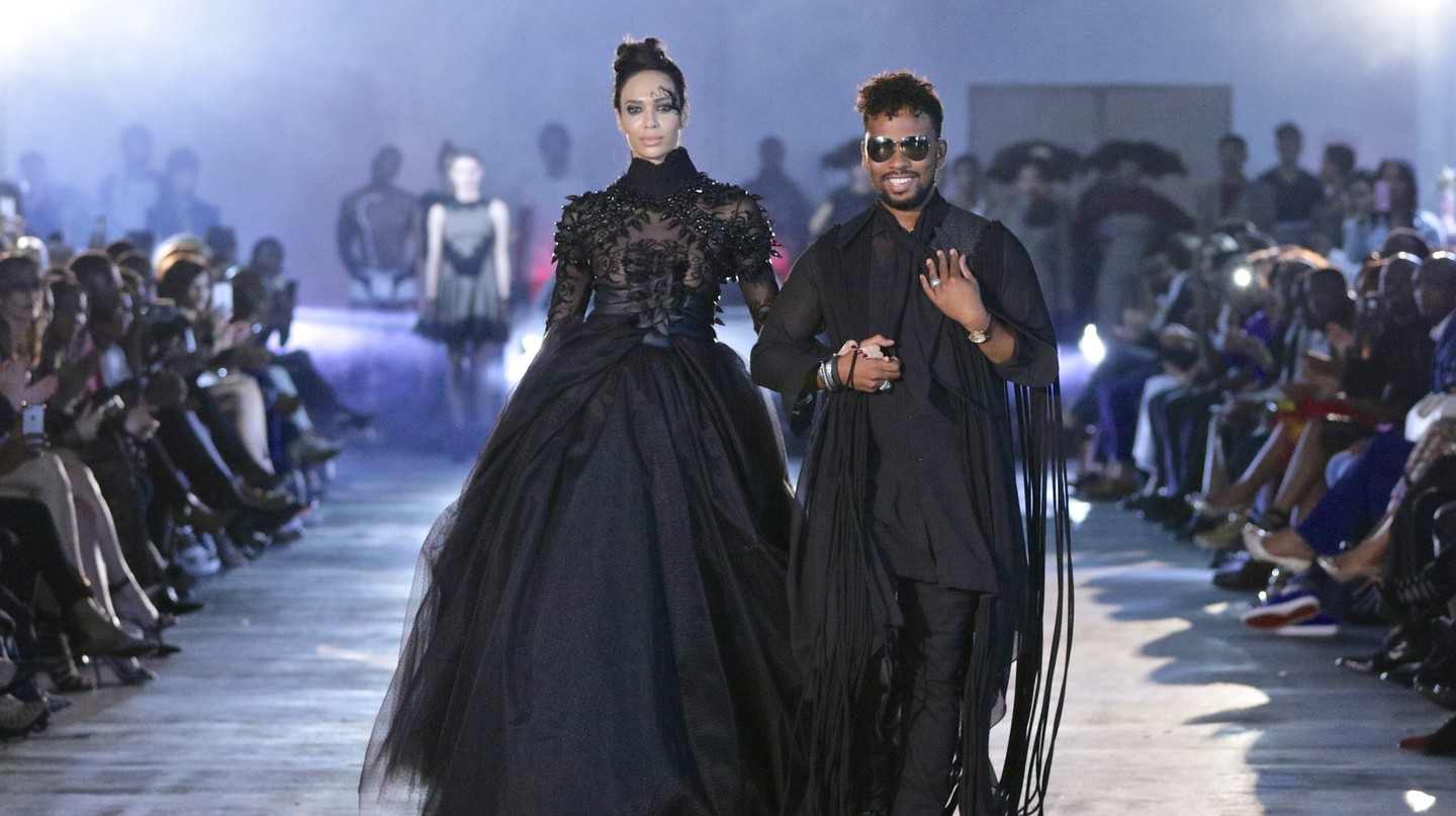 David Tlale Mercedes-Benz Fashion Week Johannesburg 2016 © Simon Deiner Photography / SDR Ramp