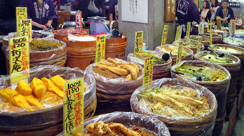 Nishiki Market|©  David Stanley Flickr